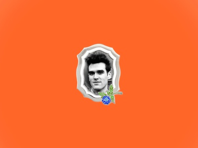 MOZ FOREVER love. design enamel pin the smiths morrissey
