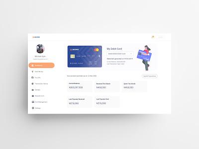 Access Bank Web Interface Concept interface ebanking banking bank financial finance app fintech finance dash dashboard ui dashboard design dailyui dashboard dashboad web uxui ux ui design dailui