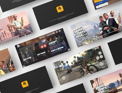 Grand Theft Auto 5 Mobile Concept