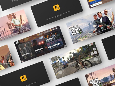 Grand Theft Auto 5 Mobile Concept game of thrones gta v mobile gta grand theft auto gaming gallery games game design game uid uxui ux ui design dailui