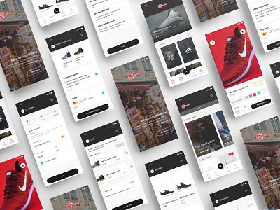 CS Logistics -  Multi-Store E-Commerce App shots dribbble ecommerce shop ecommerce design ecommerce app ecommerce ios app android web uxui ux ui design dailui