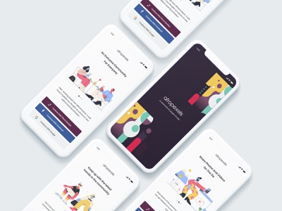 AfroPexels - A Community For People Of Color african american african african woman africa people of color poc app uid web uxui ux ui design dailui