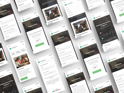Change2Naira - A Currency Exchange Platform (Mobile) financial fintech landing page ui landing page uid web uxui ux ui design dailui