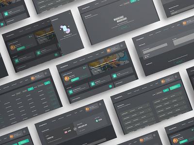 Simple International Transfer Design  -Dark Mode financial app finances finance app financial fintech finance send money app landing page ui landing page uid web uxui ux ui design dailui