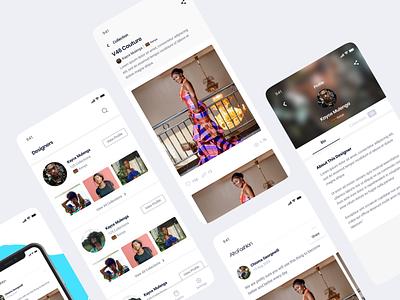 Social Fashion App Directory business directory listing fashion app social ui web uxui ux design dailui