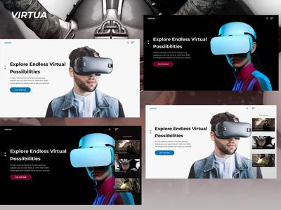 Virtual Reality Website Design
