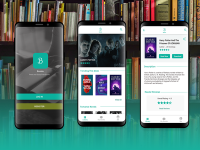 Design For A Book App On Android - Bookie