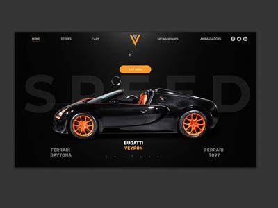 Auto Dealer Landing Page Design