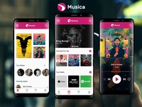 Music App With Store UI