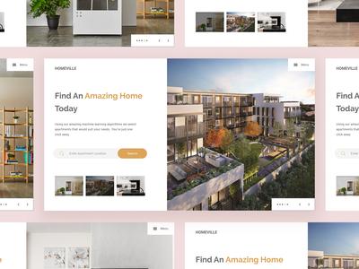 Homeville - Real Estate UI
