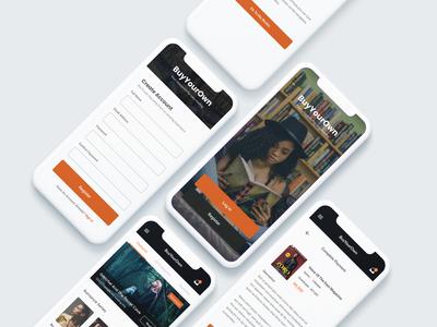 BYO - A Book Reading App