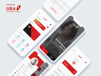 UBA Mobile Banking App Redesign
