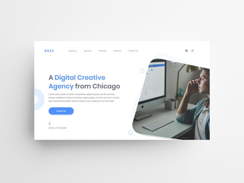BUZZ - Creative Digital Agency Design