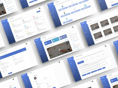 CopyDyno Dashboard Screens - An Email Marketing Tool email template dribbble best dashboard best design best designer designer marketing email marketing dashboard template dashboard ui dashboard design dashboard app dashboard uid web uxui ux ui design dailui