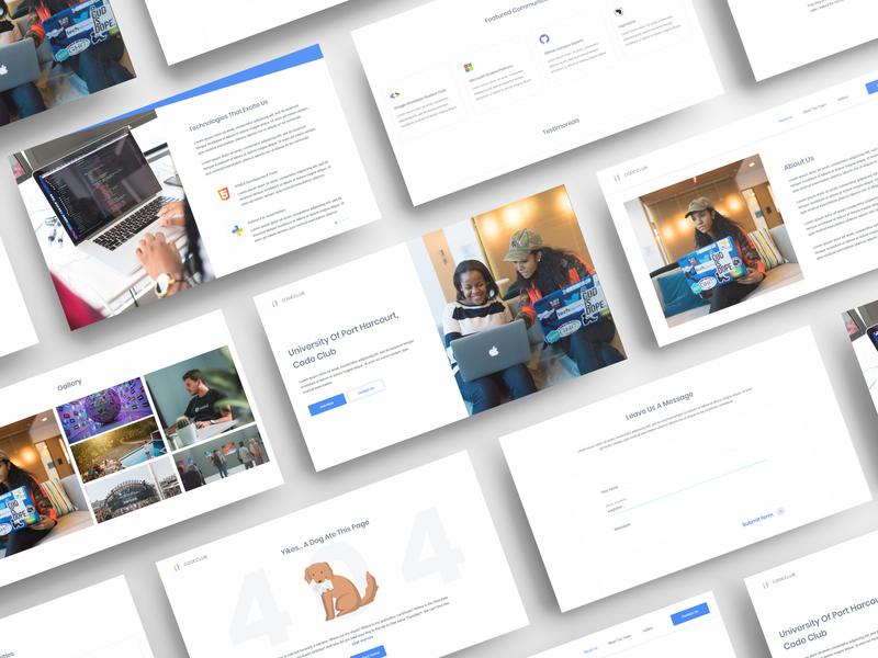 CodeClub UI Design