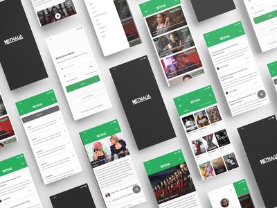 NetNaija Mobile App Design