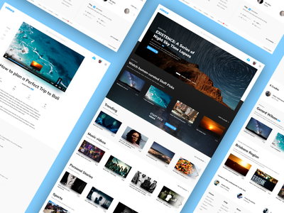 Vimeo Redesign Concept - done! revamp challenge ui challenge ui design user friendly user interface controls video player concept redesign vimeo
