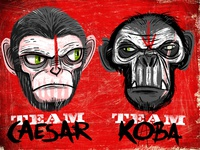 Team Caesar or Team Koba?