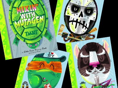 Mixin' With Mutagen Book & Blog about TMNT show teenage mutant ninja turtles