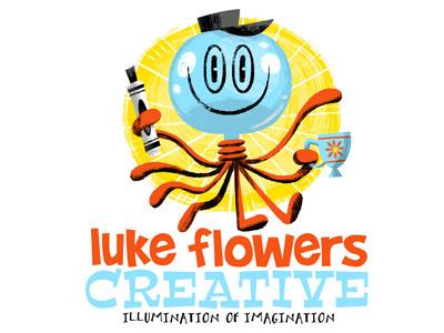 Luke Flowers Creative website & logo update