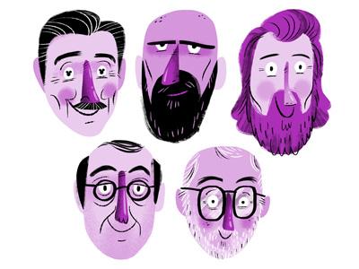 Brilliant Minds (colour collective - brilliant violet)
