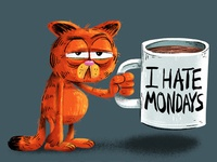 I need a bigger mug today (Colour Collective - Orange Lake)