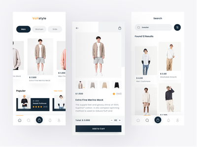 Voltstyle - Product Fashion website landing page homepage ecommerce web design mockup ux ui typography website design working space coworking space shared space working from home coworking startup office workspaces agency officespace