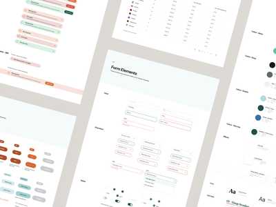 OrderMetrics DesignSystem forms platform design identity ui style guide ui dashboard product guidelines design systems