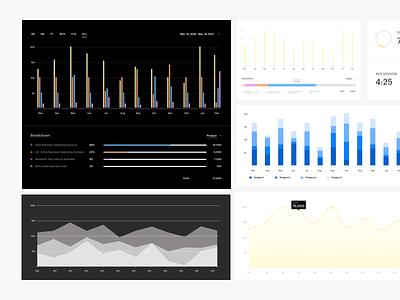 Analytics Dashboard analytics data dashboard infographic graphs charts