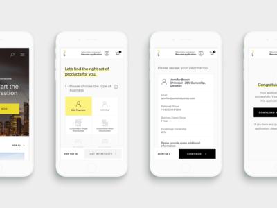 Financial Platform - Mobile