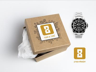 logodesign watch time vector design logo adobe photoshop