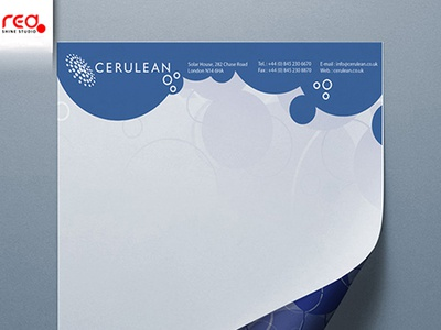 Cerulean Letter Head