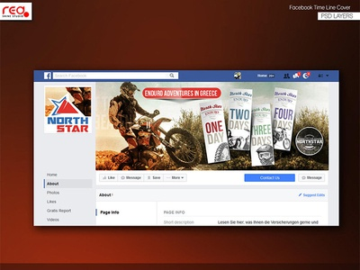 North Star Facebook Timeline