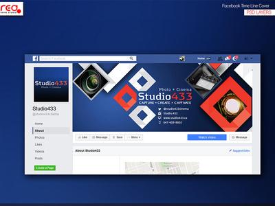 Studio 433 Facebook Timeline
