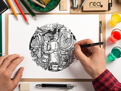 Eid Sketch