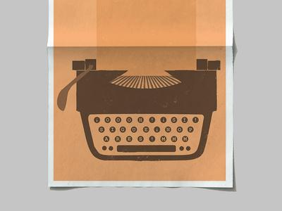 Erotic Typewriter conceptual poster design conceptual design conceptual art poster illustration graphic design design art