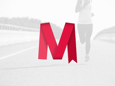 Metavirtuale monogram type flat design vector typography logo lettering branding