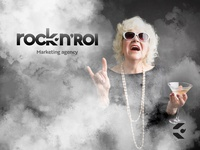 Rock N Roi - logo design & ad