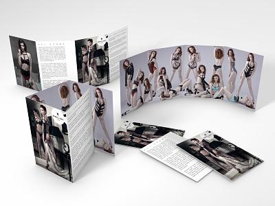 Nichole de Carle London print design leaflet fashion branding fashion photo retouching photo retouch brand identity