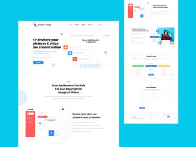 Social Media SaaS Website Design