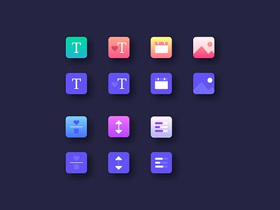 ResumeCats Web App webapplication appdesign uiux app illustration webapp creative brand webdesign gradient icons hover flaticon icon draganddrop