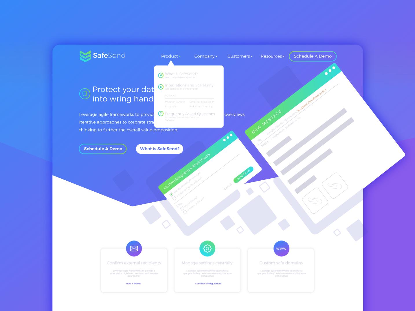 Creative Web Design purple blue website ui ux brand designer graphic webdesign web