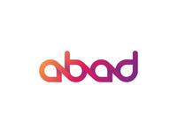 Abad logo typography