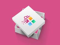 Pixell Gift Logo Design
