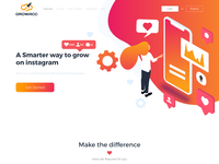 Growacc Web Design