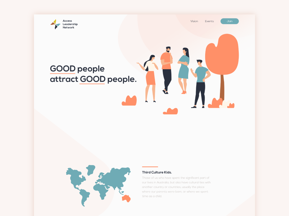 Acs Web Design flat website ui webdesign illustration graphic design designer creative agency creative
