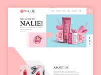 Cosmetic Website Nalie