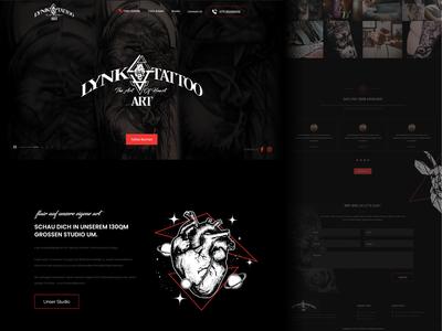 Tattoo Art Website Design