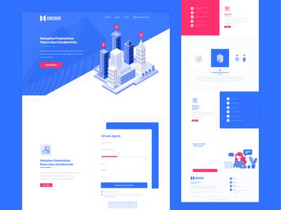 Real Estate Finance Website Design