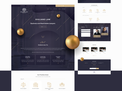Lawyers Website Design webdesign web design creative agency creative website attorneys attorney  law attorney lawyers black gold realestate business law firm lawyer law